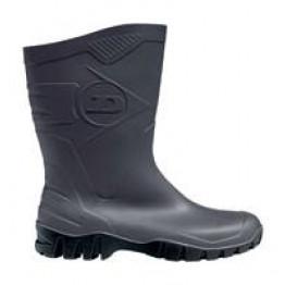Dunlop® Dee Stiefel - halbhoher wasserdichter PVC Stiefel für Beruf, Garten und Freizeit Schafthöhe ca. 26 cm für Damen und Herren