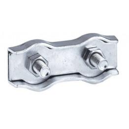 Seilverbinder, Edelstahl, für 6 mm Seil, 5 Stück SB