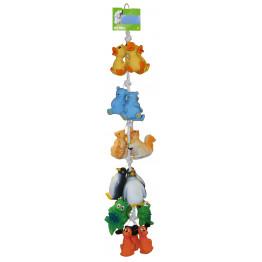 Latexspielzeug für Hunde mit Squeaker, sortiert