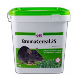 BromaCereal 25 ppm 3 kg - Bromadiolon Rattengift