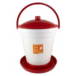 Geflügeltränke - Tränkeeimer PVC 18 Liter