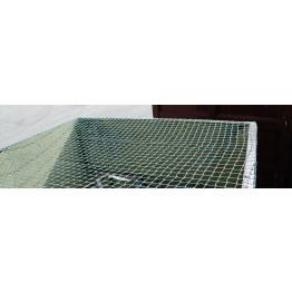 Ladungssicherungsnetz 2,5 m x 2,0 m, 30 mm Maschen, 1,8 mm Stärke - Abdecknetz