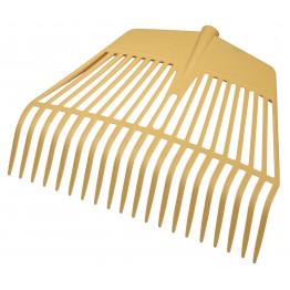 Laubrechen und Laubgabel 20 Zinken, 45 cm breit - Rechen für Laub