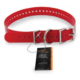 Halsband 2,5cm rot - SAC30-13322