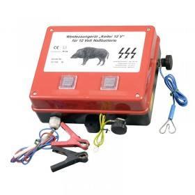 Eider Keiler Weidezaun-Batteriegerät mit Erdungsstab - Weidezaungerät