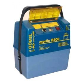 Merlin B 500, Batteriegerät optmiert für alkaline Batterien ab 75 Ah