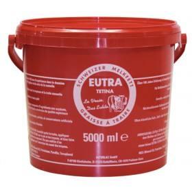 EUTRA Melkfett - 5000 ml - Original Schweizer Melkfett für gesunde Euter