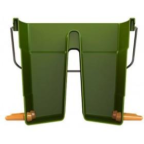 Lammeimer aus Kunststoff mit 6 Saugstellen für Boxentrennwand