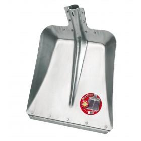 Aluschaufel Profi Größe 9 - 2,5mm stark, 36 cm breit & mit Stahlkante