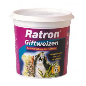 Ratron Giftweizen Mäuseköder Rattenköder - 1000 g von Frunol - Weizenköder gegen Mäuse