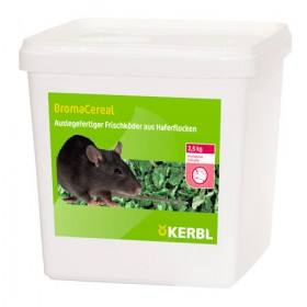Rattenköder Rattengift Broma Cereal 2500 Gr. Wirkstoff: Bromadiolon