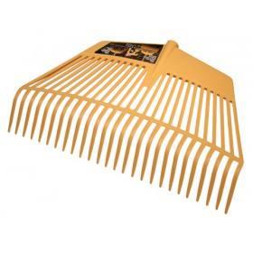 Laubrechen und Laubgabel 26 Zinken, 60 cm breit - Laubbesen Rechen Harke Fächerbesen