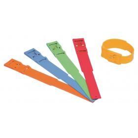 Fesselbänder gelb aus Kunststoff zur Markierung