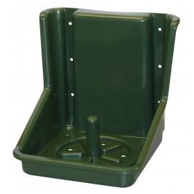 Salzlecksteinhalter grün, aus Kunststoff