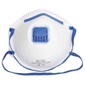 Atemschutzmaske FFP 2 D mit Ventil - 10 Stück / Pack