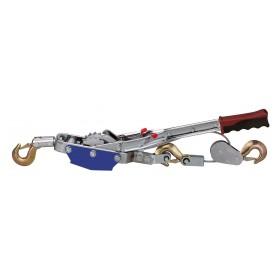 HAND POWER PULLER Seilzug mit Ratsche 3 m x 6 mm, 4000 kg / 4 to