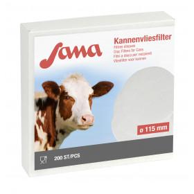 SANA Filterscheiben Kannenvliesfilter 240 mm