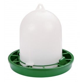 Geflügelfutterautomat grün, 1 kg Original Stükerjürgen