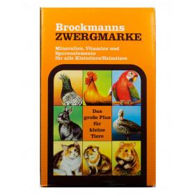 Brockmanns Zwergmarke - 1 kg - Mineralfutter für Tauben Geflügel und Kaninchen