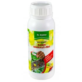 Dicotex Rasenunkraut-Frei von Dr. Stähler, 500 ml Flasche - Selektives Herbizid auf Rasenflächen