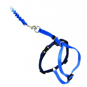 Easy Walk™ Katzengeschirr und Leine 33-46cm, blau
