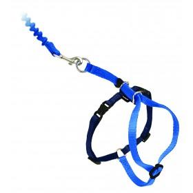 Easy Walk™ Katzengeschirr und Leine 27-36cm, blau