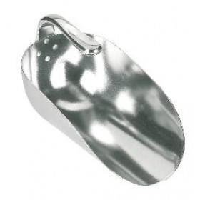 Abwiegeschaufel mit Innengriff Alu, 2000 g - Innenstielschaufel