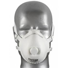 F-Feinstaub-Faltmaske P3 Tector® mit Ventil - 5 Stück