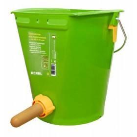 Hygienetränkeeimer mit Klapp-Ventil - Tränkeeimer mit FixClip-Ventil mit Vital-Sauger