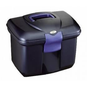 Putzbox, midnight blue, Box für Putz - Utensilien