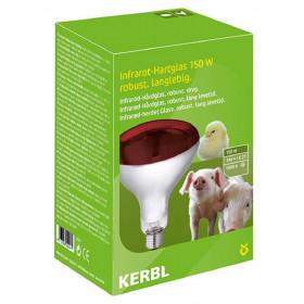 Infrarotbirne 150 Watt von Kerbl - Infrarotstrahler Wärmelampe Rotbirne