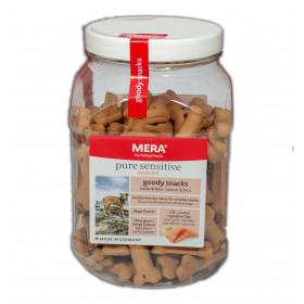 MERA pure Sensitive Snacks Goody Lachs & Reis, 600 g - Hundesnacks Leckerlie