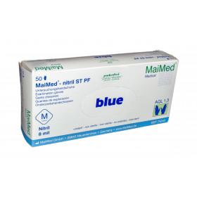 MaiMed-Nitril ST PF Untersuchungshandschuhe M - XL blau