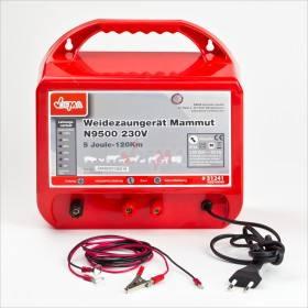N 9500 Mammut Weidezaun - Netzgerät von DEMA