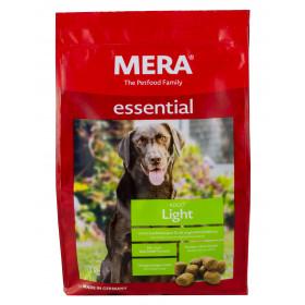 MERA Essential Light 1 kg Futter für mollige, zu Übergewicht neigende Hunde von Meradog