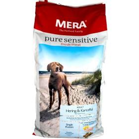 MERA pure Sensitive Hering getreidefrei 12,5 kg fresh Meat 057350