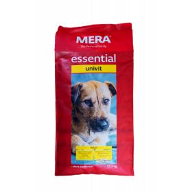 Mera Essential Univit 12,5 kg  Premium Adult Hunde Futter von Mera mit Geflügel 061450