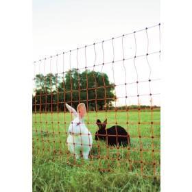 Kaninchennetz - Kleintierzaun -  Euro-Kleintiernetz 65/1 12m grün
