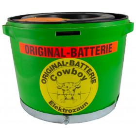 Weidezaun Batterie Cowboy 10,5 Volt Original mit Kontakten für Bullenschreck B5 B6