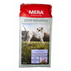 Meradog Pure - Lamm & Reis - 12,5 kg - Mera Hundefutter für sensible Hunde