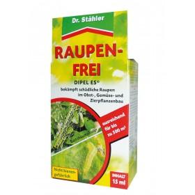 Dipel ES Raupen frei 15 ml Dr. Stähler gegen Buchsbaumzünsler Raupen Bacillus thuringiensis