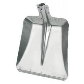 Aluschaufel Größe 7 - 32 cm mit Stahlkante