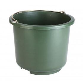 Stalleimer und Baueimer 12 Liter olivgrün