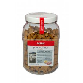 Meradog Goody Snacks Truthahn Getreidefrei, 600 g