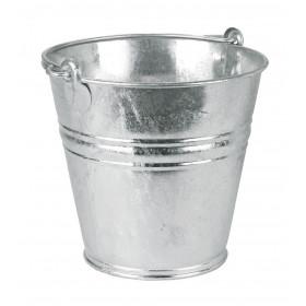 Wassereimer 9 Liter verzinkt, mit Tragegriff