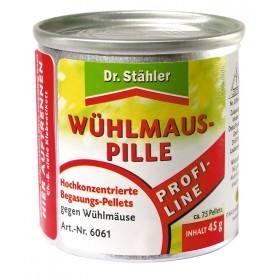 Wühlmauspille 100 g - Dr. Stähler PROFI-LINE Hochkonzentriert