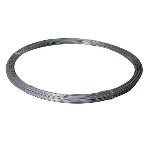 Pasture fence wire 2 mm, zinc-plated, role 200 m