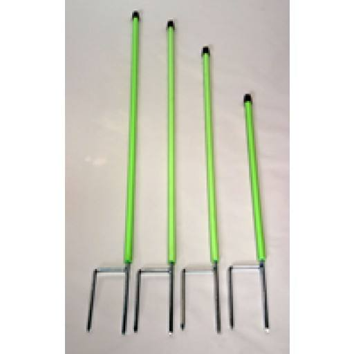Replacement rod for cats, green network, 75 cm