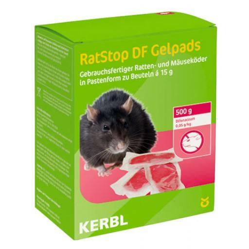 RatStop DF Gelpad portion of 500 g 15 g ABP. (Difenacoum)