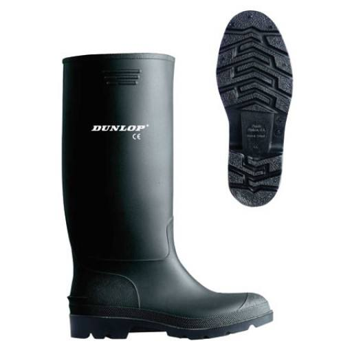 Dunlop ® Pricemastor - classic, high and waterproof PVC work boots